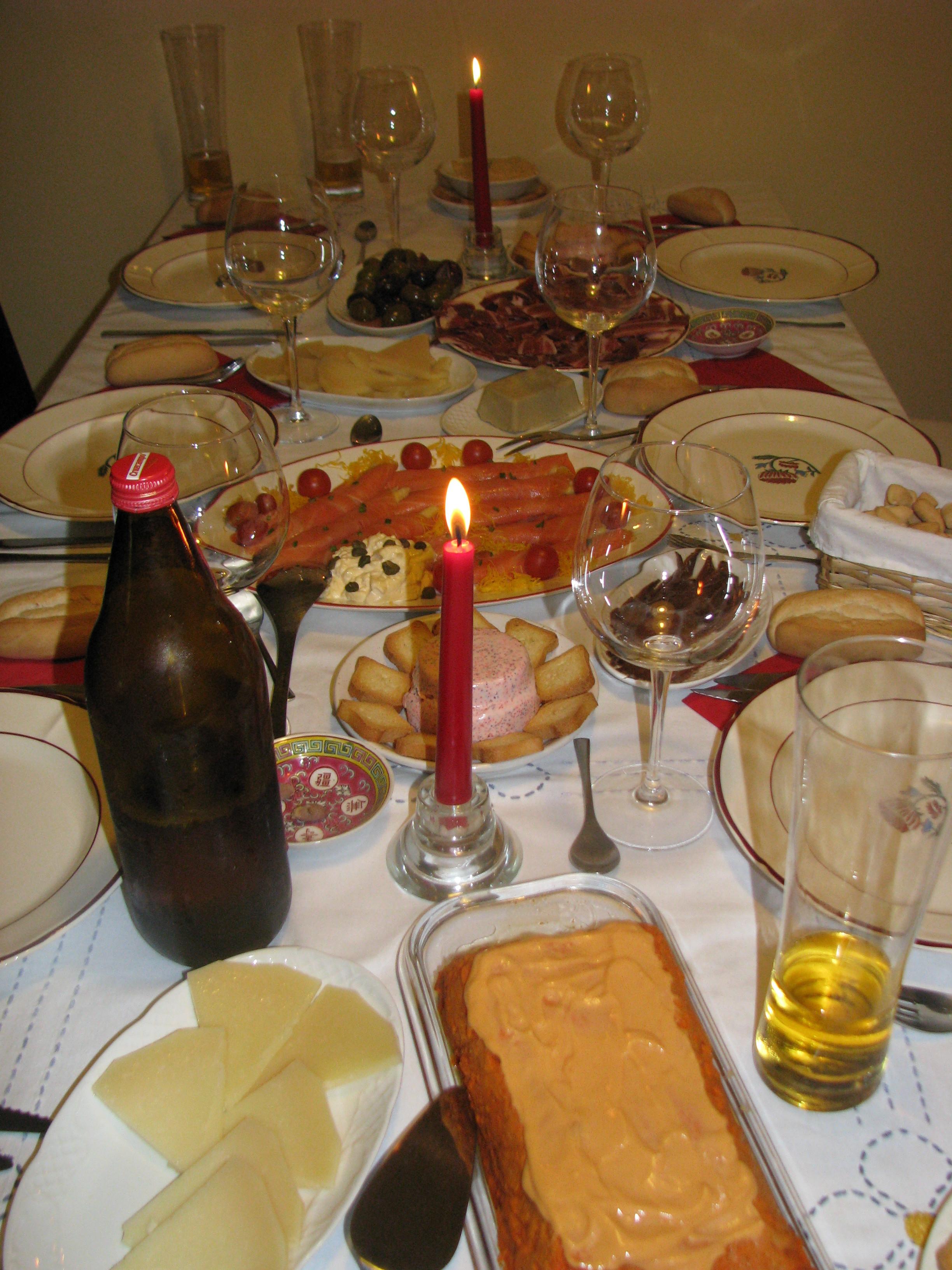Christmas Dinners In Spain  A Spanish Christmas Eve Dinner