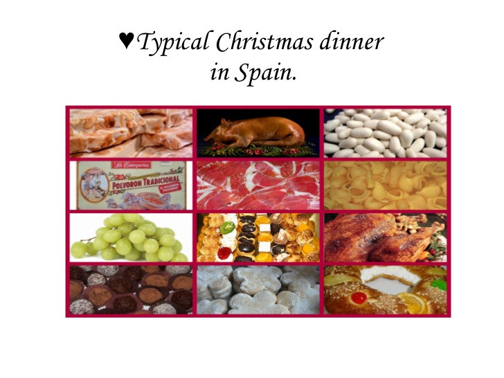 Christmas Dinners In Spain  Typical christmas dinner in Spain