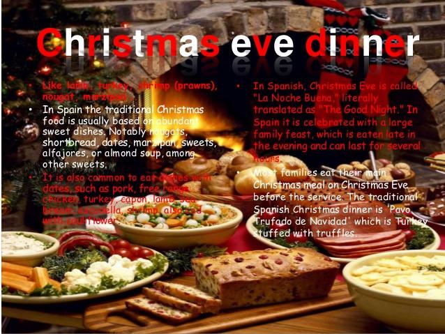 Christmas Dinners In Spain  Christmas in Spain