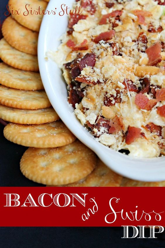 Christmas Dips And Appetizers  Hot Bacon & Swiss Dip Recipe
