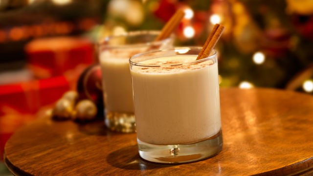 Christmas Eggnog Drinks  Making egg nog for the British Boing Boing