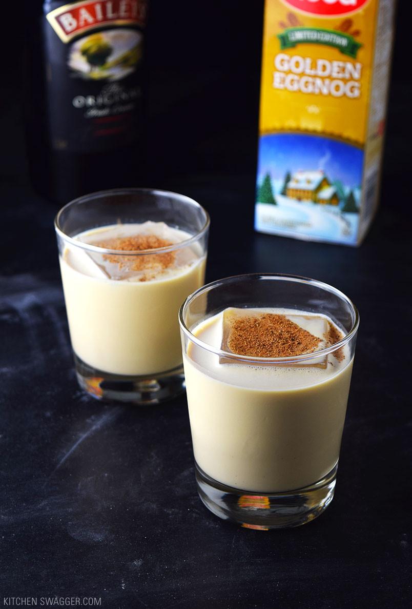 Christmas Eggnog Recipe  Eggnog Holiday Cocktail Recipe