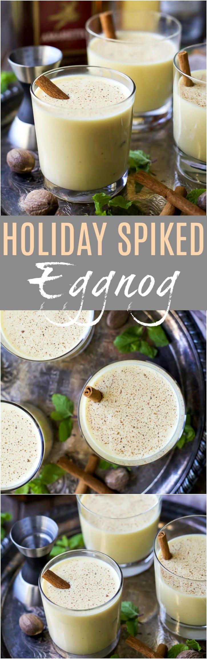 Christmas Eggnog Recipe  Holiday Spiked Eggnog