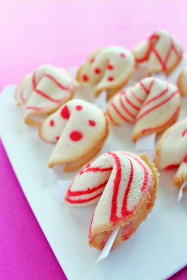 Christmas Fortune Cookies  Christmas Cookies and Candy Recipes