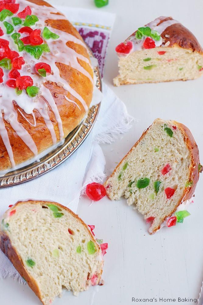 Christmas Fruit Bread  Julekage Norwegian Christmas fruit bread recipe
