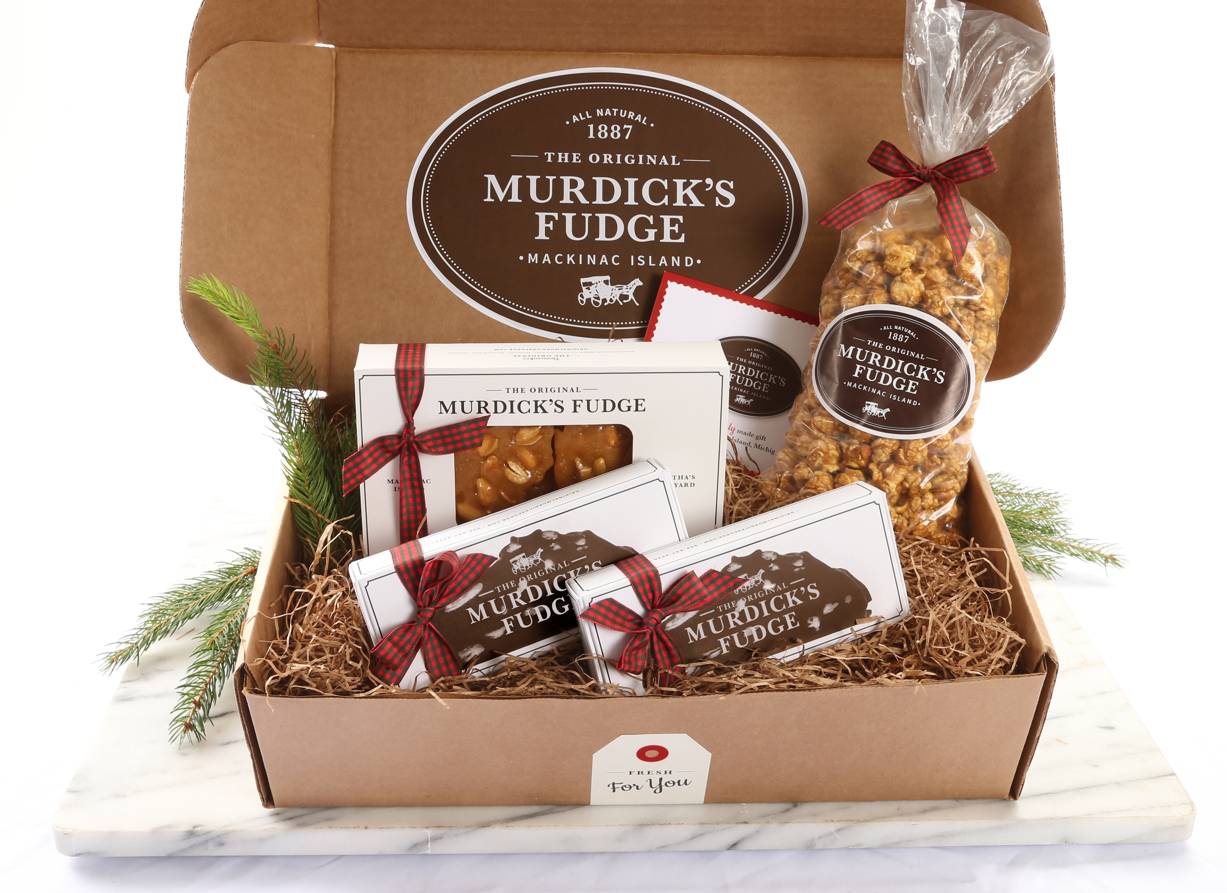 Christmas Fudge Gifts  Mackinac Island – America's Top 10 Christmas Town – Stays