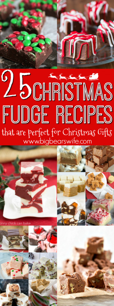 Christmas Fudge Gifts  25 Christmas Fudge Recipes that are perfect for Christmas