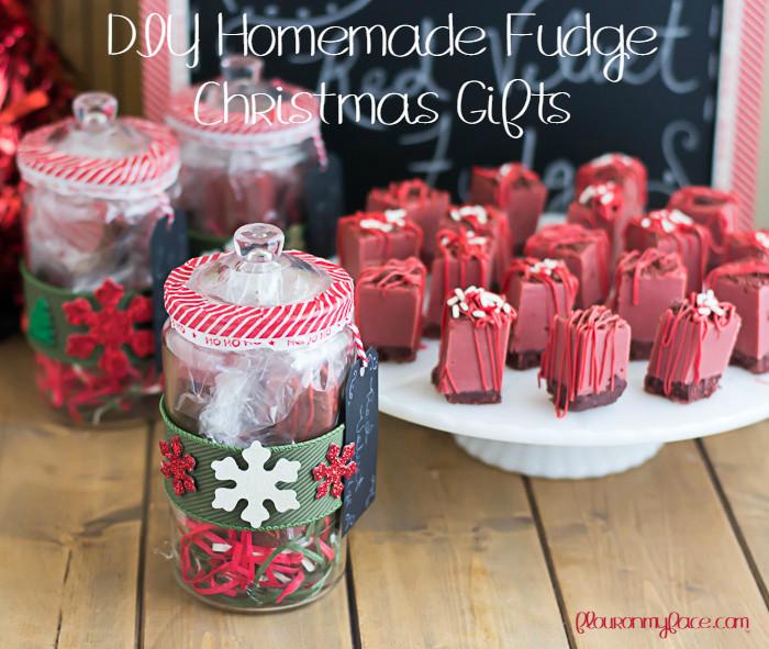 Christmas Fudge Gifts  Red Velvet Fudge Recipe