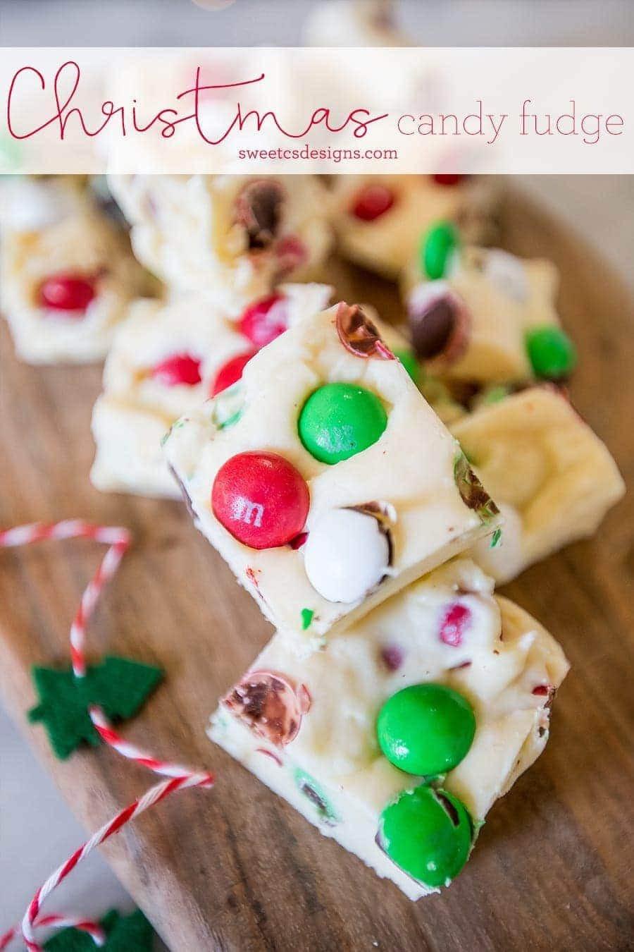 Christmas Fudge Gifts  Christmas Candy Cookie Dough Fudge
