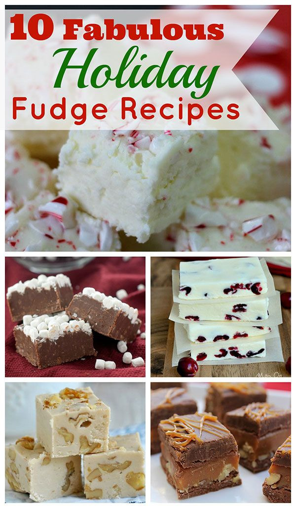 Christmas Fudge Recipes  Top 10 Christmas Themed Fudge Recipes