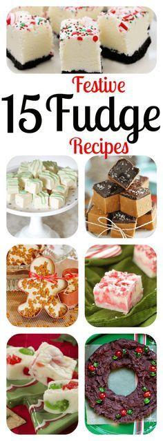 Christmas Fudge Recipes  Flour sacks Sacks and Fudge recipes on Pinterest