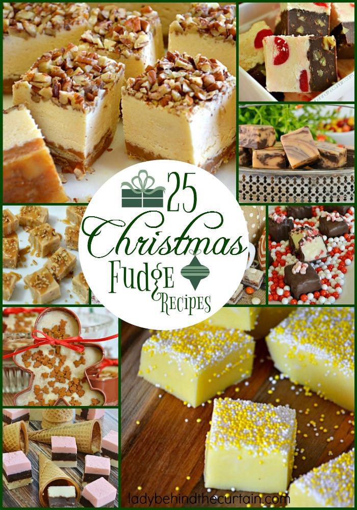 Christmas Fudge Recipes  25 Christmas Fudge Recipes