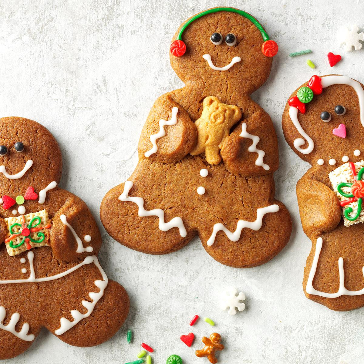 Christmas Gingerbread Cookies Recipe  Gingerbread Bud s Recipe