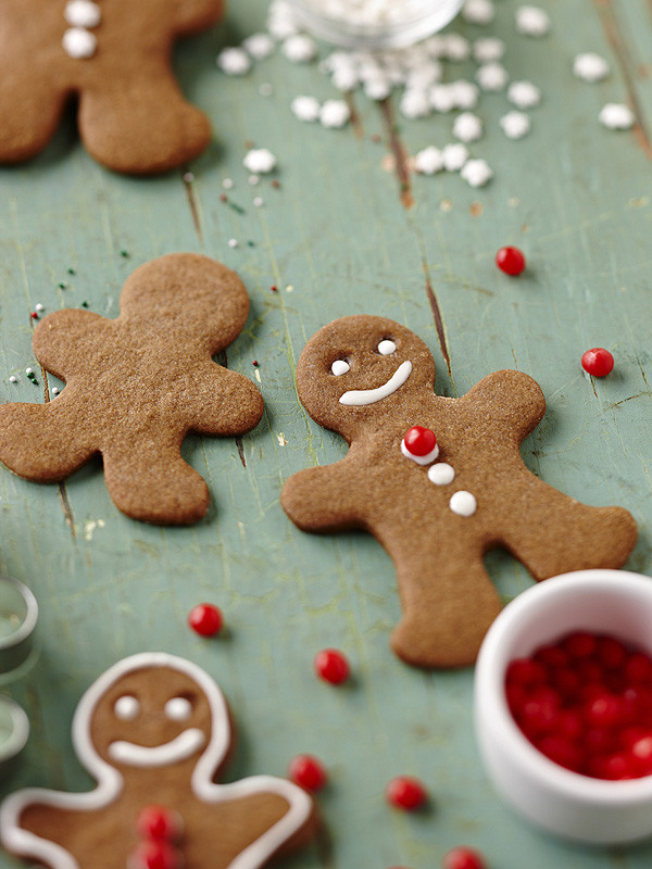 Christmas Gingerbread Cookies Recipe  Nicole Richie s Joss & Main Home Collection Gluten Free