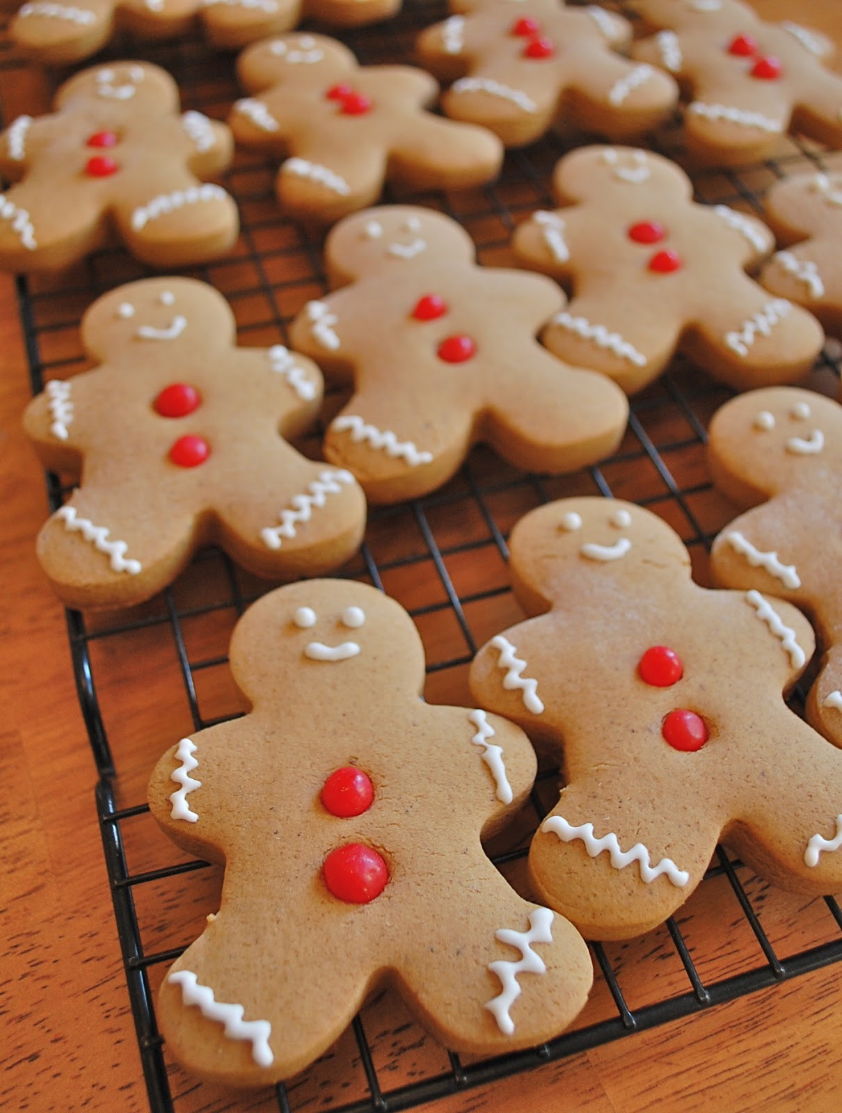 Christmas Gingerbread Cookies Recipe  Chef Mommy Gingerbread Cookies