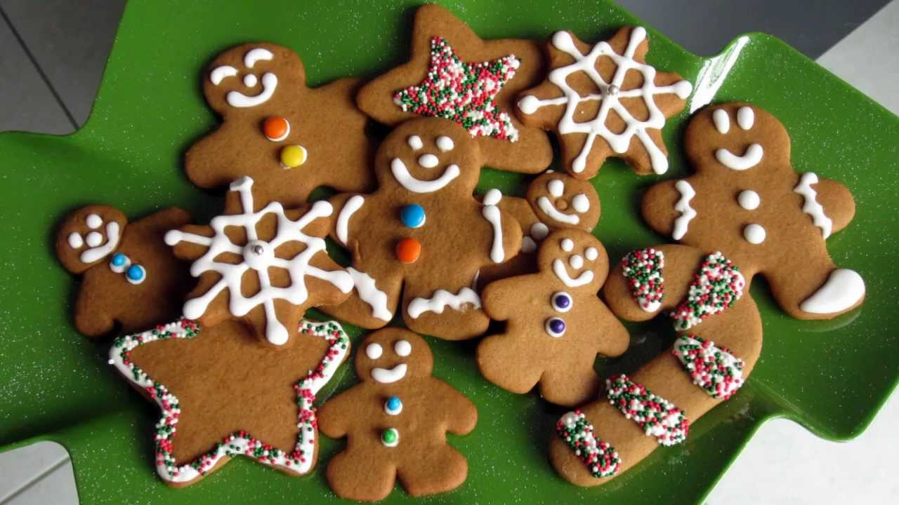 Christmas Gingerbread Cookies Recipe  Christmas Treats Gingerbread Cookie Recipe