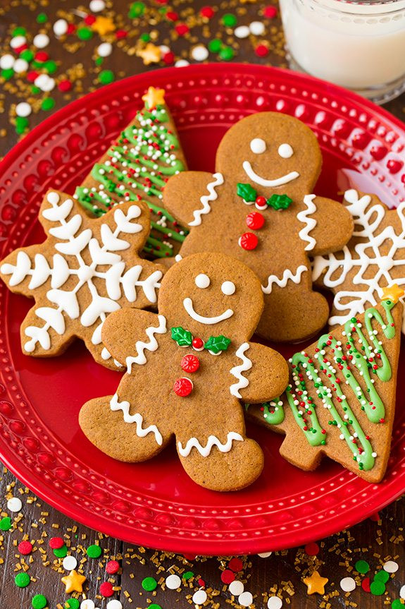 Christmas Gingerbread Cookies Recipe  Gingerbread Cookies Cooking Classy