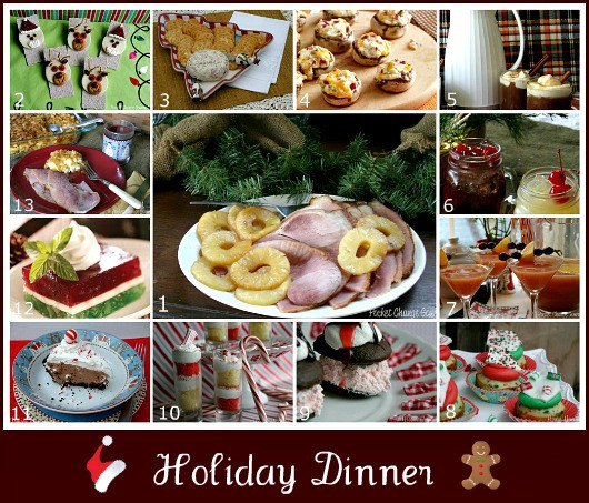 Christmas Ham Dinners  Holiday Dinner Menu