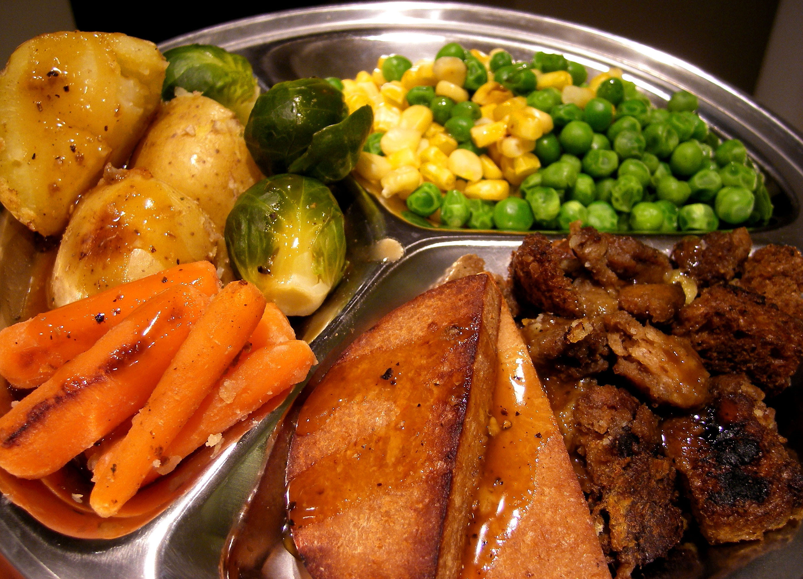 Christmas Ham Dinners  Holiday Feast…with Vegan Gravy – Elle s Travels and