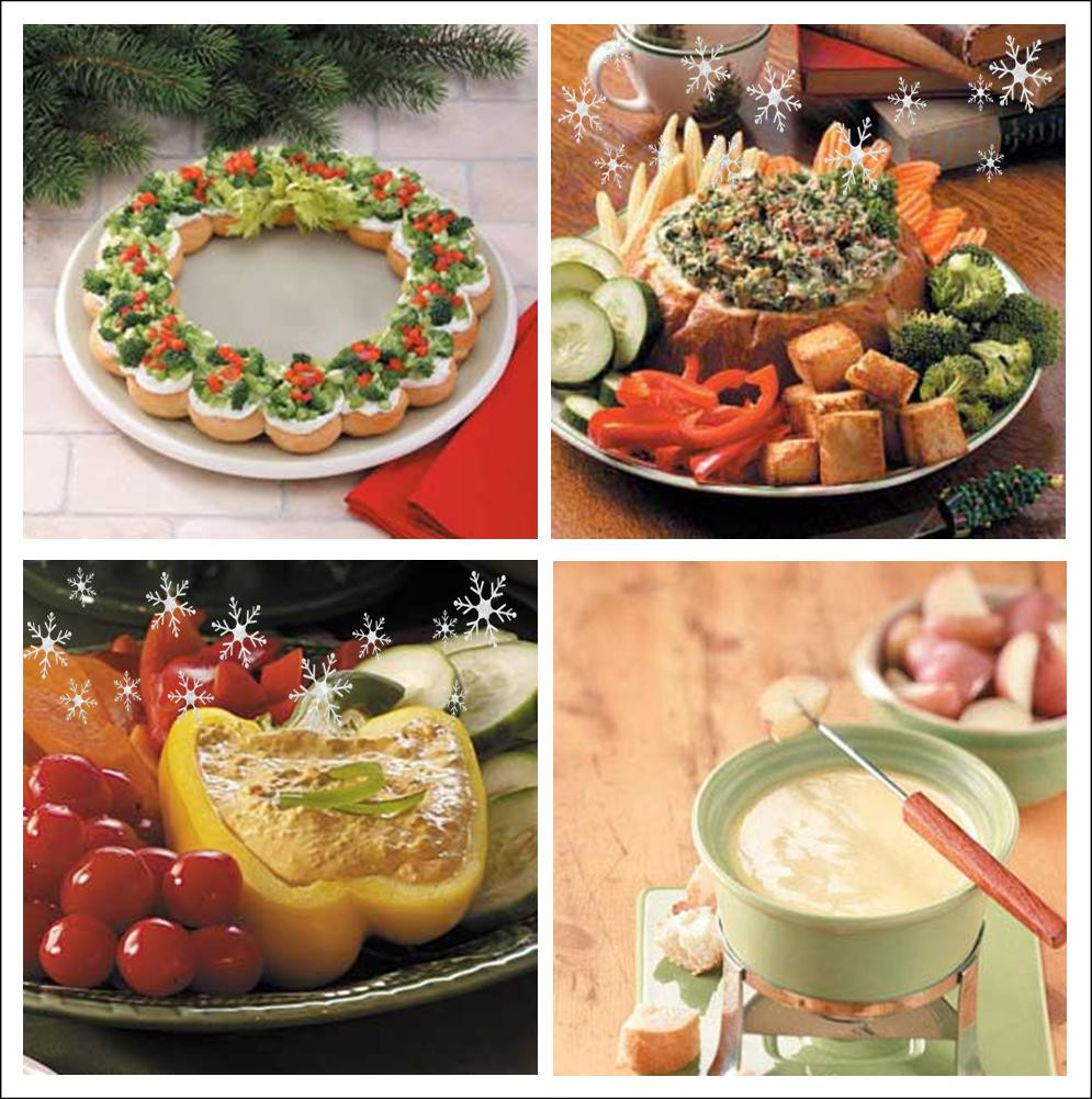 Christmas Holiday Appetizers  It s Written on the Wall 24 Festive Christmas Appetizers