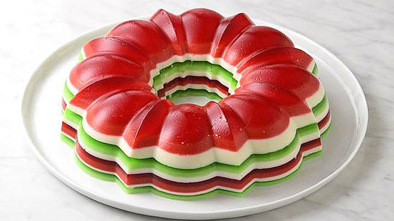 Christmas Jello Desserts  Christmas Jello Salad Ring Recipe Tablespoon