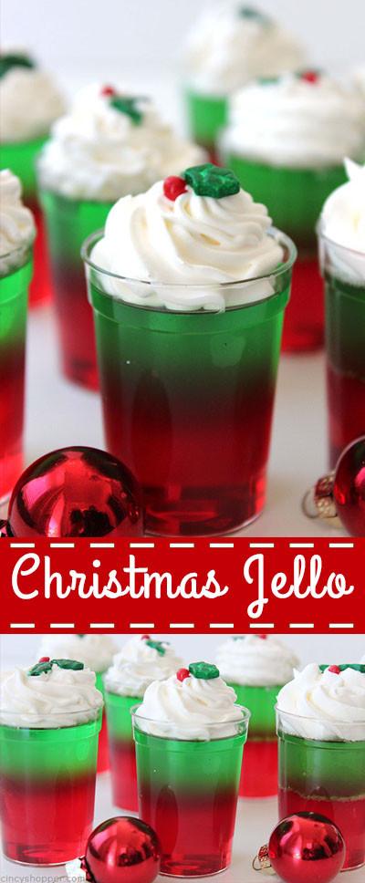 Christmas Jello Desserts  Christmas Jello CincyShopper