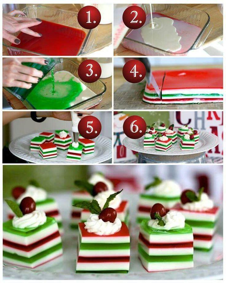 Christmas Jello Desserts  Christmas Finger Jello Recipe — Dishmaps