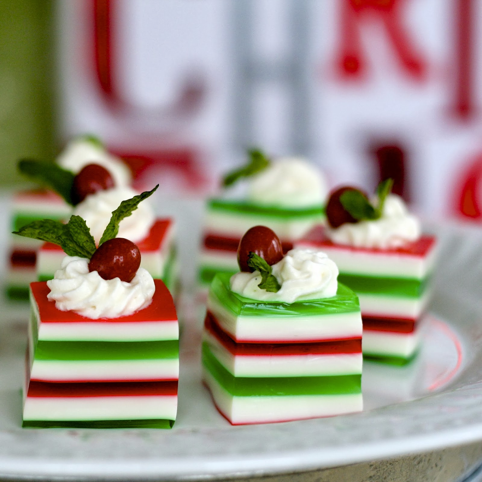 Christmas Jello Desserts  C is for Christmas Jelly Shots
