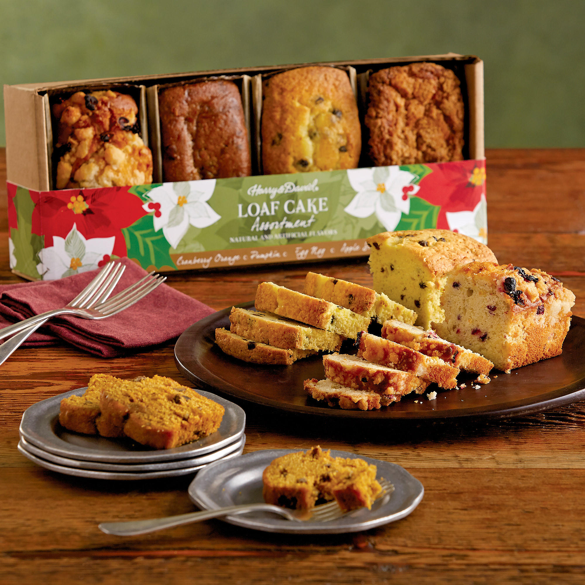 Christmas Loaf Cakes  Holiday Loaf Cakes Bakery Gifts