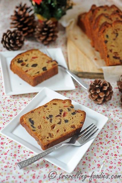 Christmas Loaf Cakes  Christmas Fruit Loaf Cake