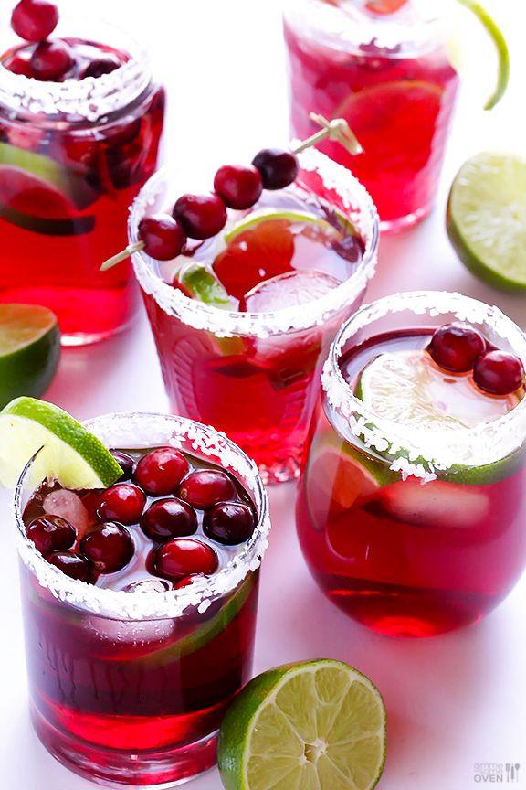 Christmas Margaritas Recipes  Cranberry Margaritas Recipe