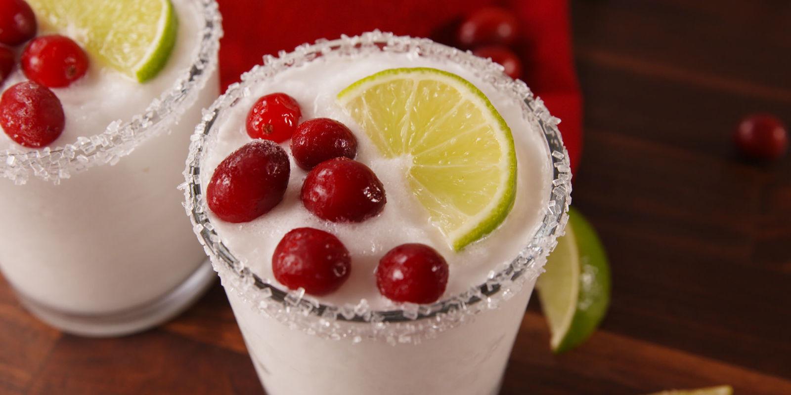 Christmas Margaritas Recipes  Best White Christmas Margarita Recipe How to Make White
