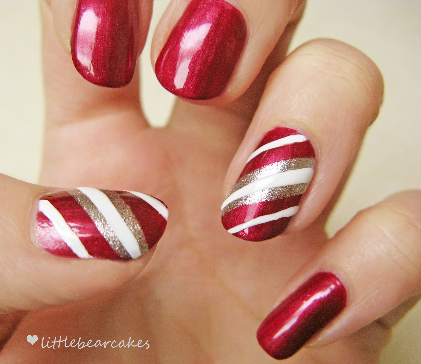 Christmas Nails Candy Cane  Nails Candy Cane – Done well these can be the icing on