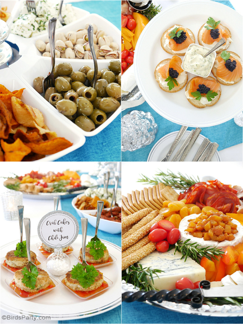 Christmas Party Appetizers  Hosting a Holiday Cocktail & Appetizers Party Party