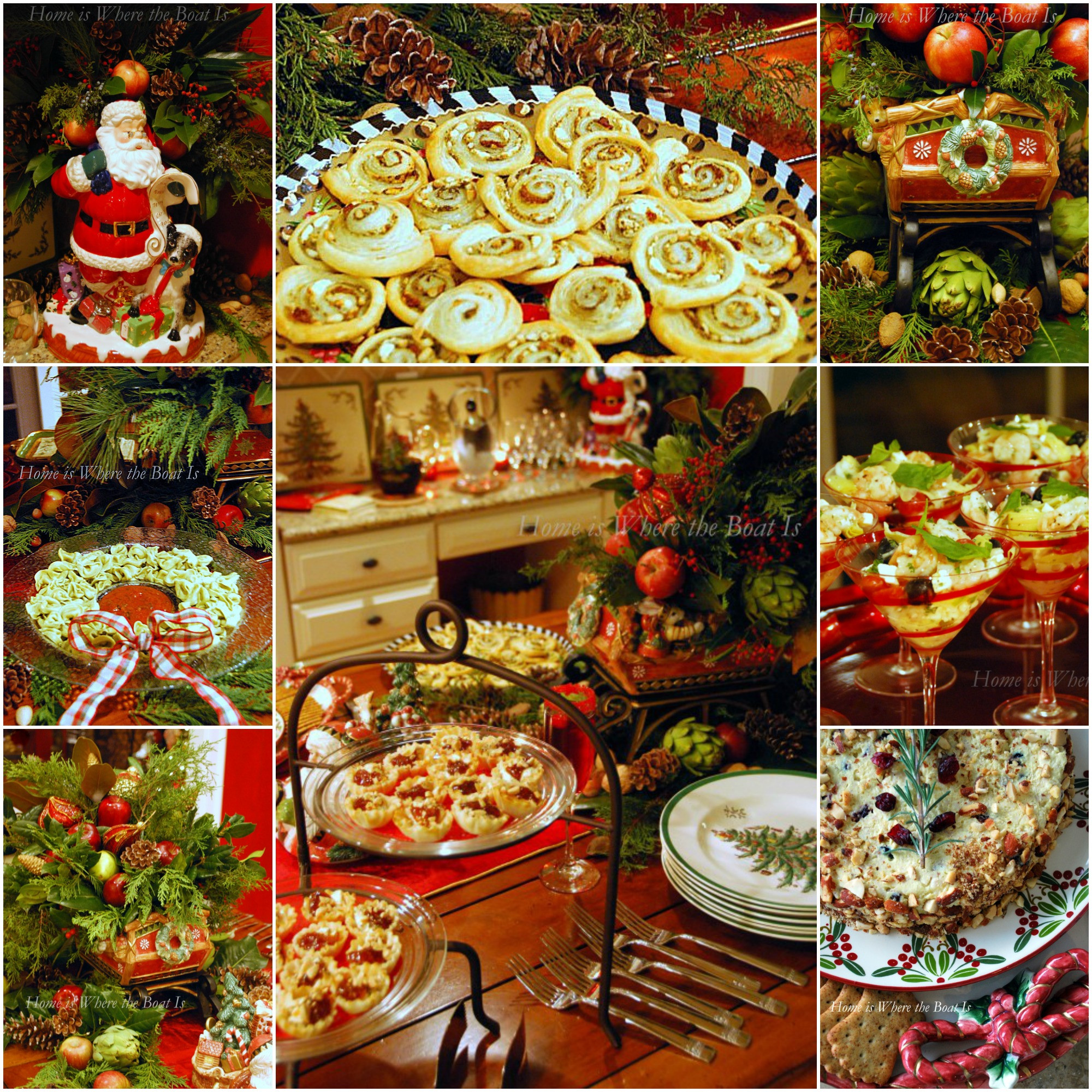 Christmas Party Appetizers  Christmas Party Appetizers – Home is Where the Boat Is