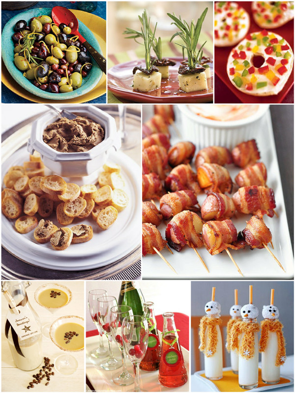 Christmas Party Appetizers  Christmas Party Easy Appetizers and Holiday Cocktails