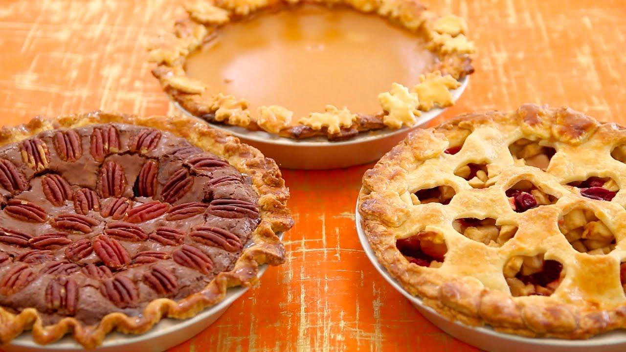 Christmas Pumpkin Pie  3 Homemade Pies Pumpkin Apple Pecan Fudge Gemma s Bigger Bolder Baking