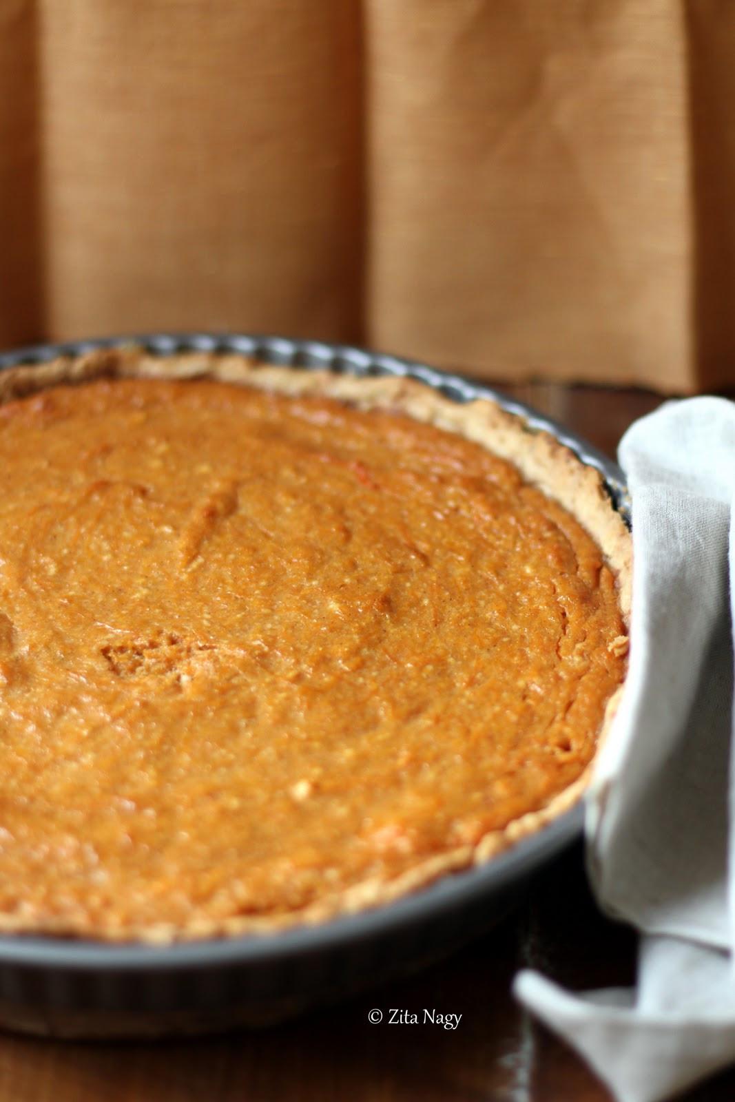 Christmas Pumpkin Pie  Ve arian Christmas – Pumpkin Pie