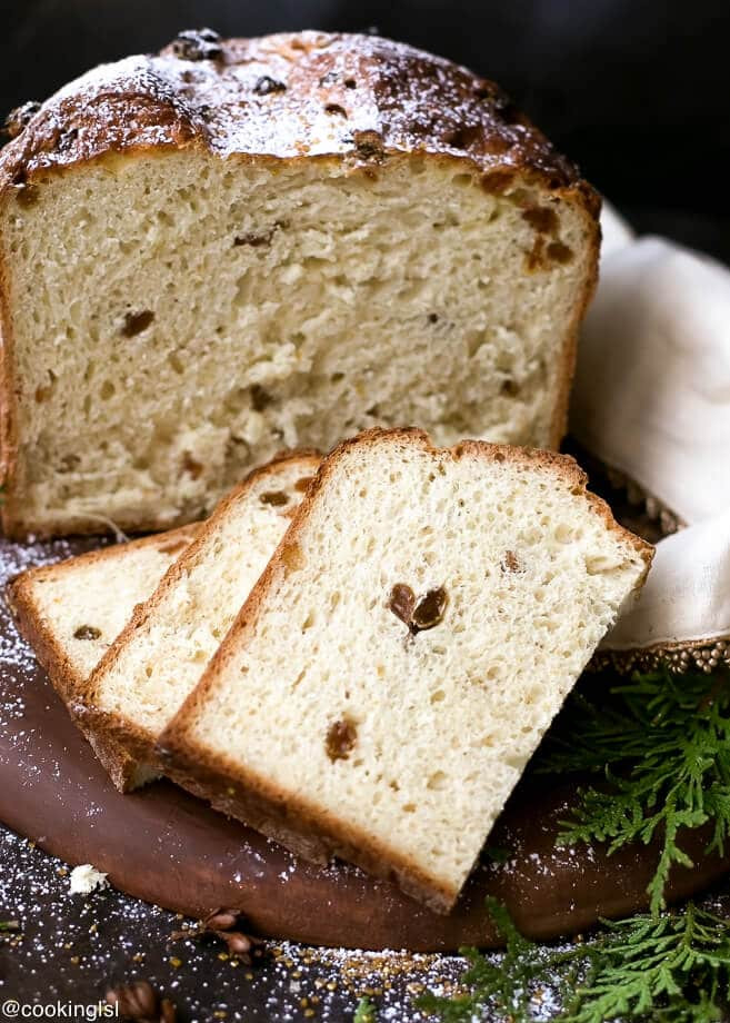 Christmas Quick Bread Recipe  Easy Homemade Italian Christmas Bread Panettone Recipe