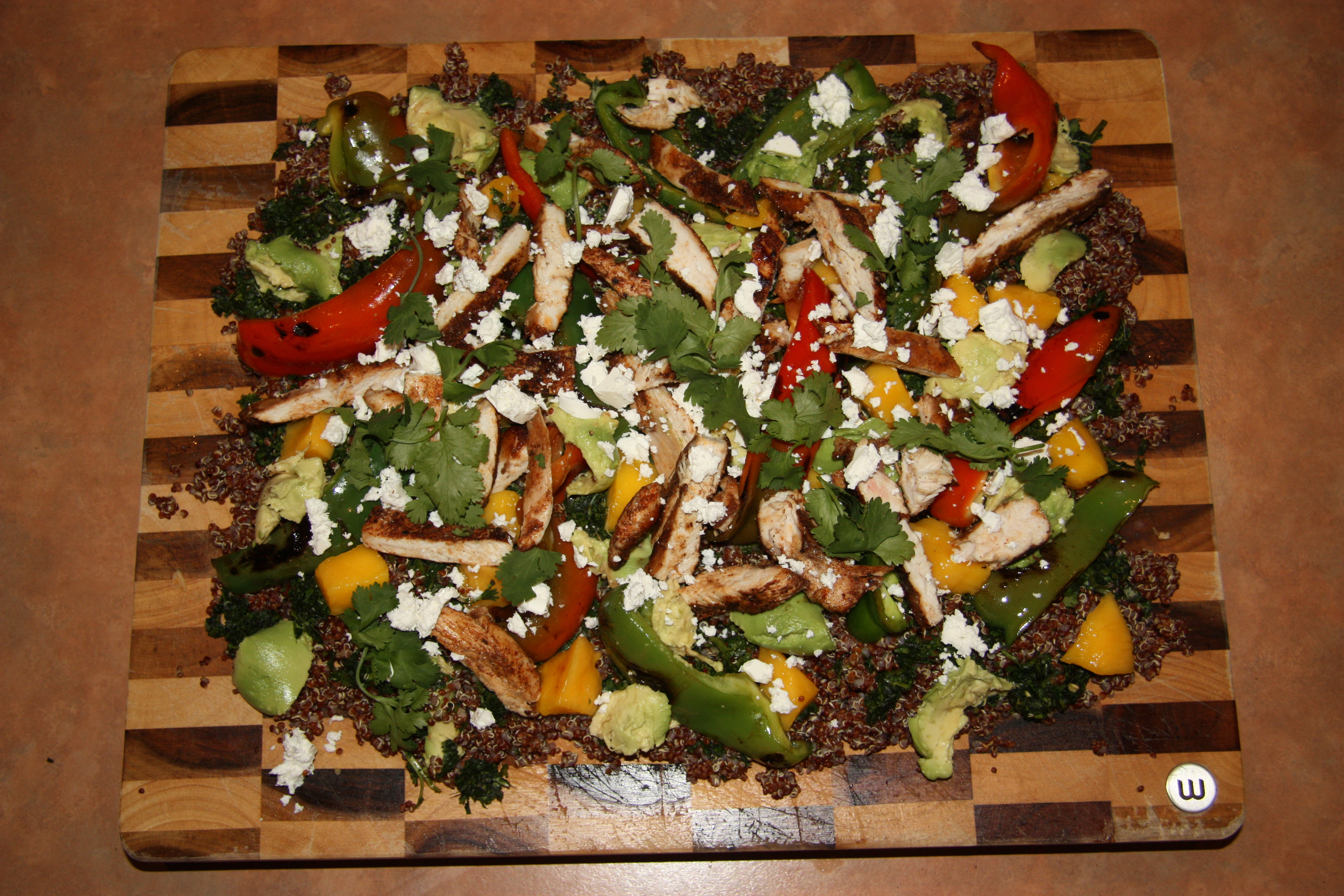Christmas Salads Recipes Jamie Oliver  Blackened Chicken San Fran Quinoa Salad Jamie Oliver