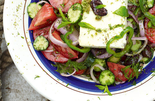 Christmas Salads Recipes Jamie Oliver  Jamie Does Articles Greek Salad Recipe Channel 4