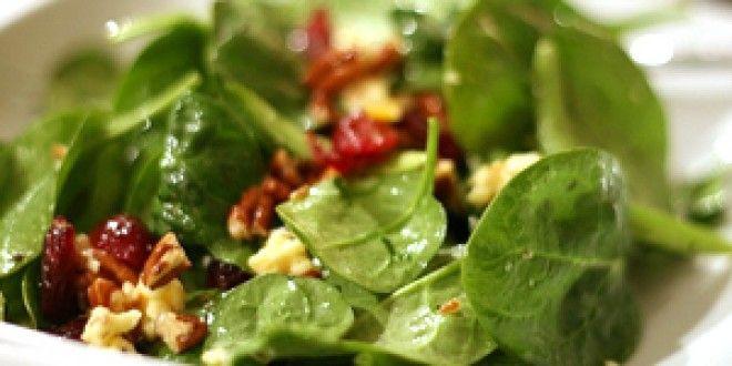 Christmas Salads Recipes Jamie Oliver  Jamie Oliver's Spinach and Cranberry Salad Recipe