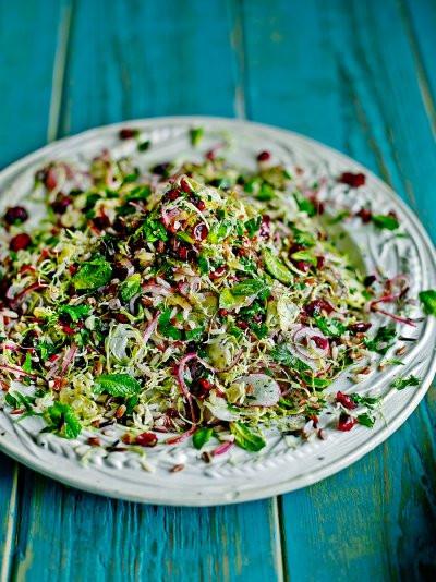 Christmas Salads Recipes Jamie Oliver  Vegan Christmas Christmas Recipes
