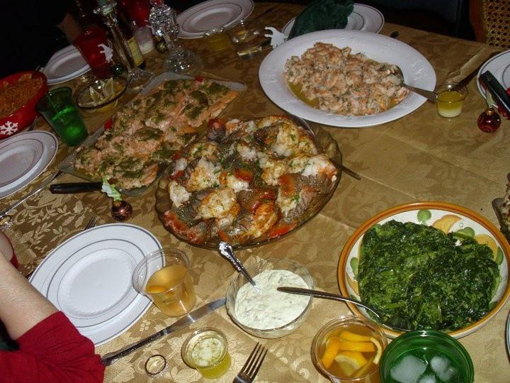 Christmas Seafood Dinners  Christmas eve Italian seafood dinner Sea food