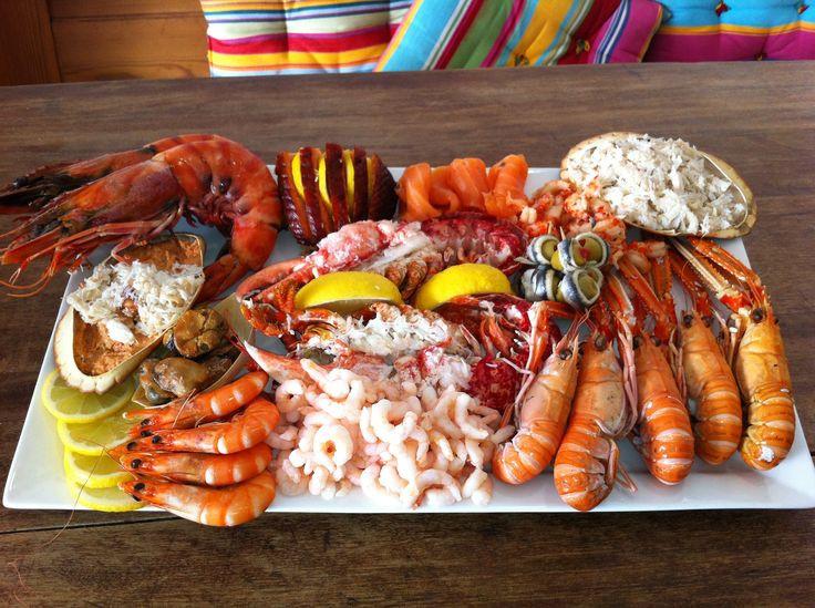 Christmas Seafood Dinners  Best 25 Seafood platter ideas on Pinterest
