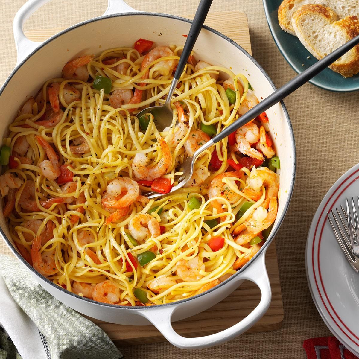 Christmas Seafood Dinners  Christmas Eve Confetti Pasta Recipe