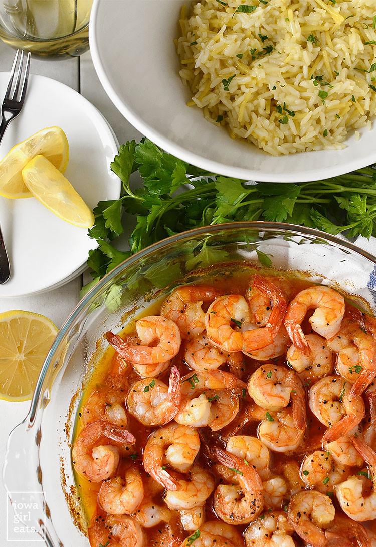 Christmas Seafood Dinners  Cajun Shrimp Iowa Girl Eats