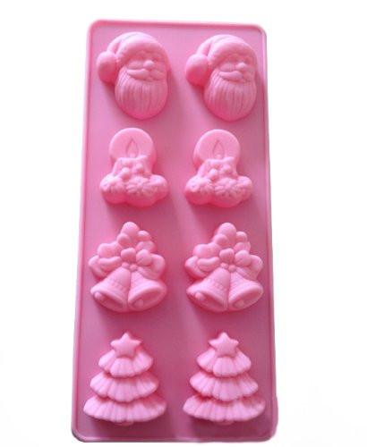 Christmas Silicone Baking Molds  Christmas Silicone Baking Cake Mold Candle Mold Bakeware