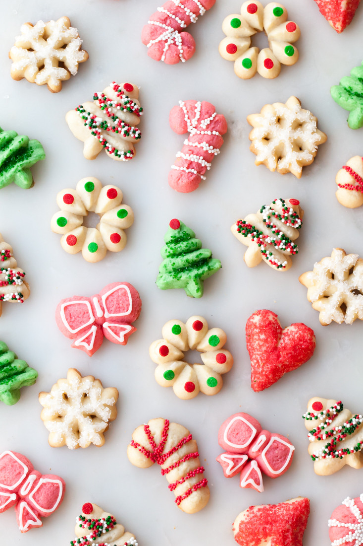 Christmas Spritz Cookies  Style Sweet CA