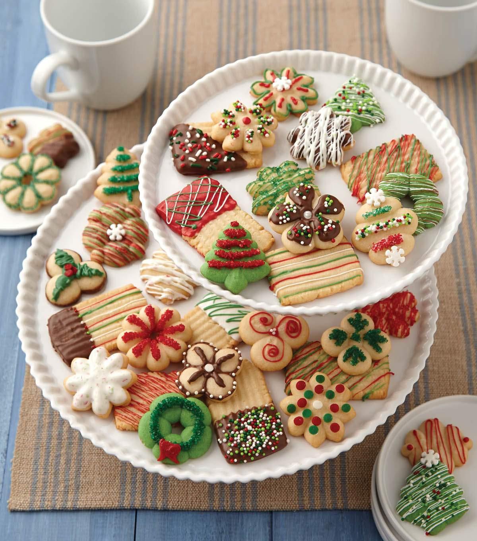 Christmas Spritz Cookies  Christmas Spritz Cookies